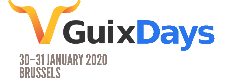 Guix Days logo.