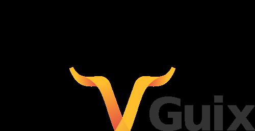 Handshake & Guix logos.